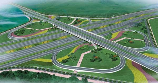 道桥绿化景观工程